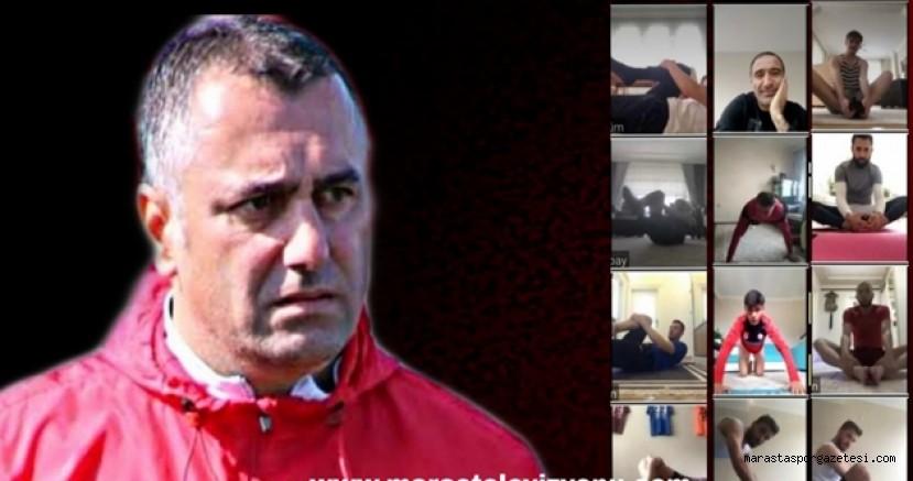 Kahramanmaraşspor'da  Antrenman Online Başladı!