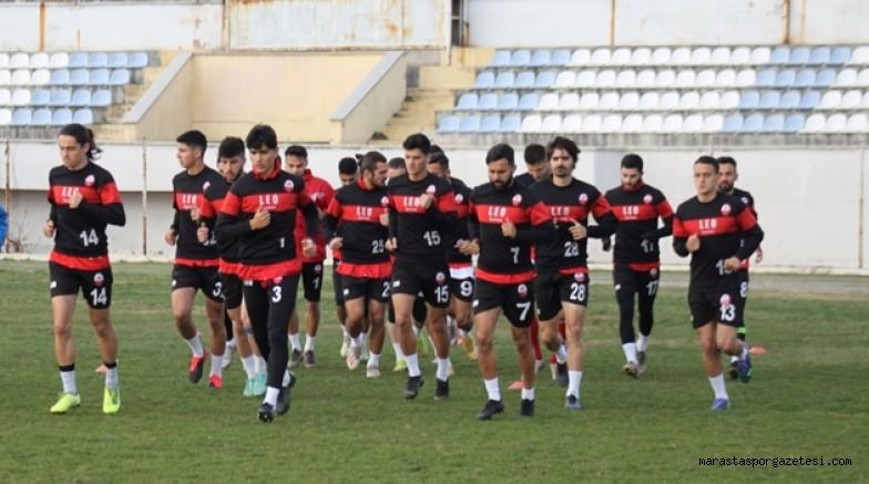 Kahramanmaraşspor'da  çalışmalar başladı