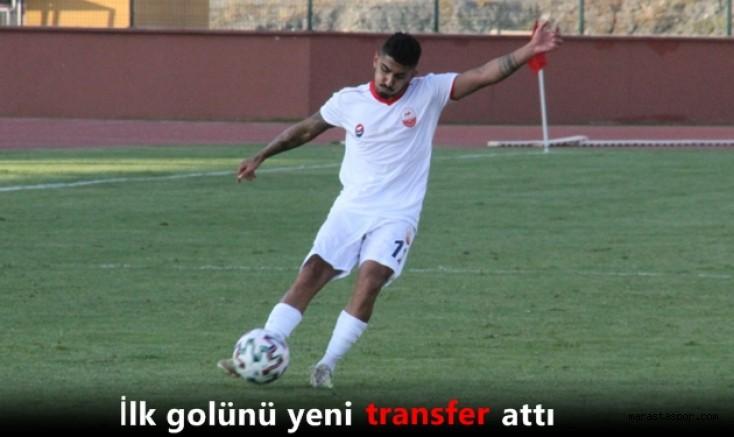 Kahramanmaraşspor'da sezonun ilk golünü yeni transferi attı