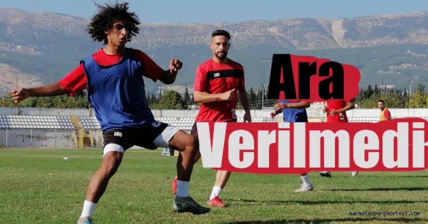 Kahramanmaraşspor'da, Vanspor ile oynayacağı maçın hazırlıkları başladı