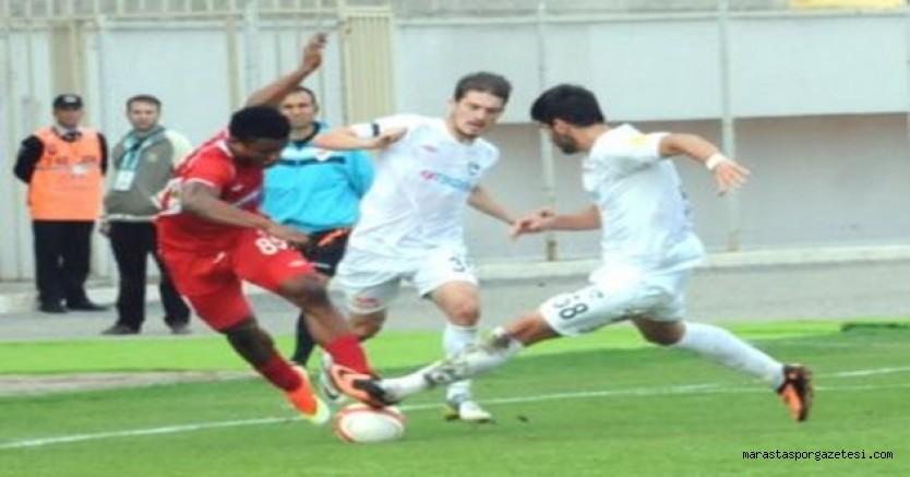 Kahramanmaraşspor - Denizlispor Özet PTT 1.Lig
