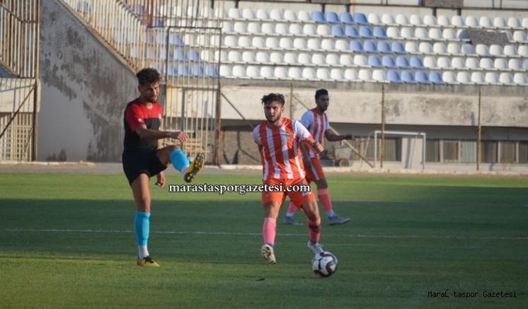 Kahramanmaraşspor Erzin Belediyespor hazırlık maçının özeti