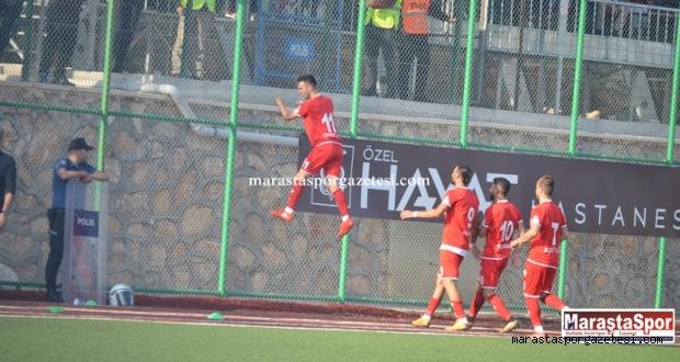 Kahramanmaraşspor 1 dakika içinde  2 gol buldu