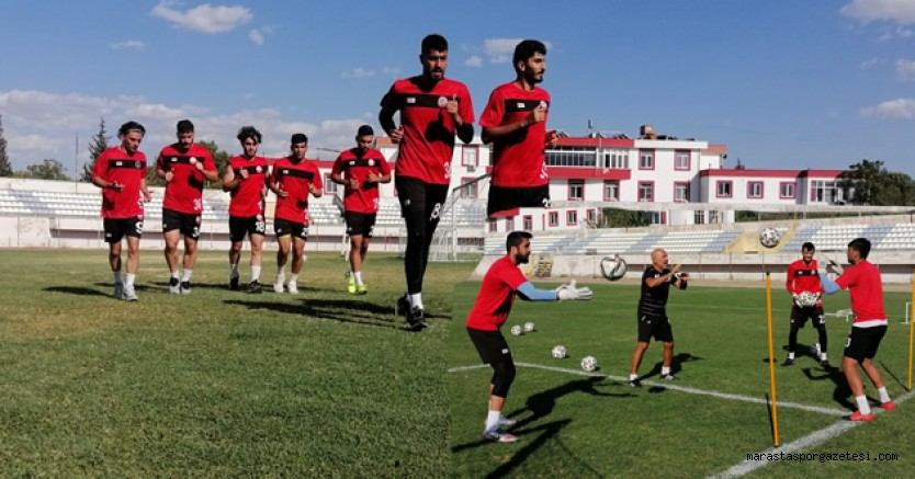 Kahramanmaraşspor, izin yapmadan Bayburt maçı hazırlıklarına başladı.