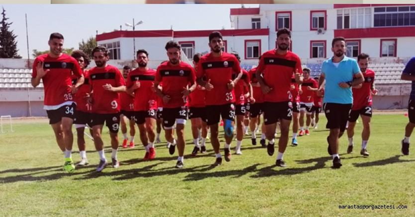 Kahramanmaraşspor, liderle oynayacağı maçın hazırlıklarını sürdürdü