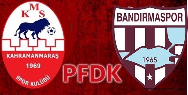 Kahramanmaraşspor maçı sonrası Bandırmaspor'da ceza