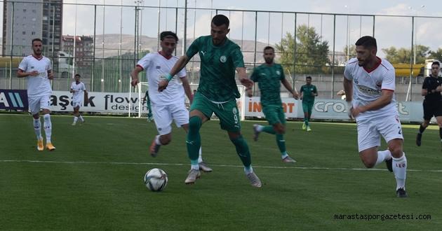 Kahramanmaraşspor, Sivas Belediyespor'dan fark yedi.