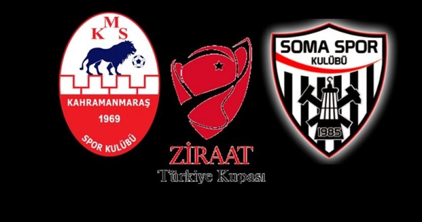 Kahramanmaraşspor - Somaspor kupa maçının tarihi belli oldu