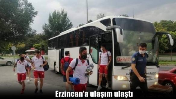 Kahramanmaraşspor'u deplasmana büyükşehir götürdü