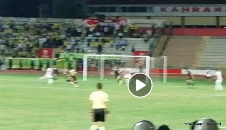 Kahramanmaraşspor'un Şanlıuraspor karşısında son dakikada attığı gol