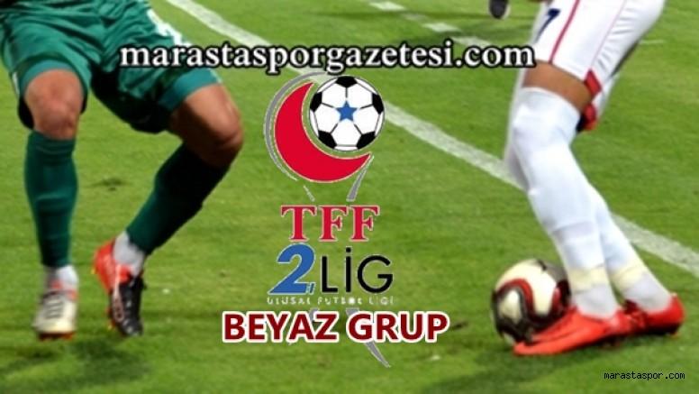 Kahramanmaraşspor'un yer aldığı Beyaz Grupta  16.Haftanın programı ve Hakemleri