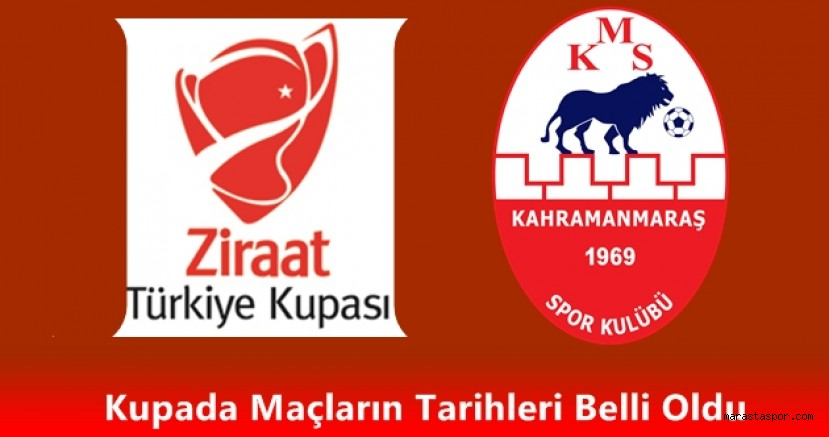 Kahramanmaraşspor'un Ziraat Türkiye Kupasındaki maçının  tarihi açıklandı