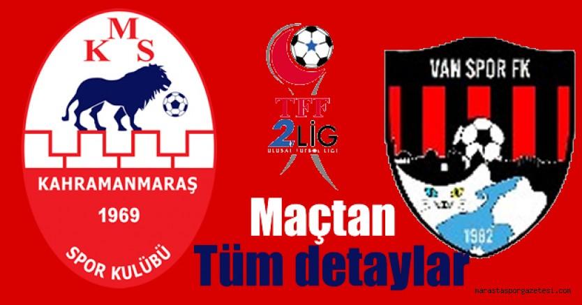 Kahramanmaraşspor,  Van Spor maçı ne zaman saat kaçta hangi stadyumda?