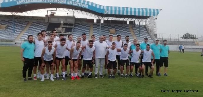 Kahramanmaraşspor yeni sezon hazırlıklarına başladı.