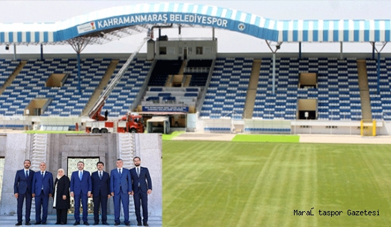 Karar Alındı: Kahramanmaraş'a Stadyum Yapılıyor