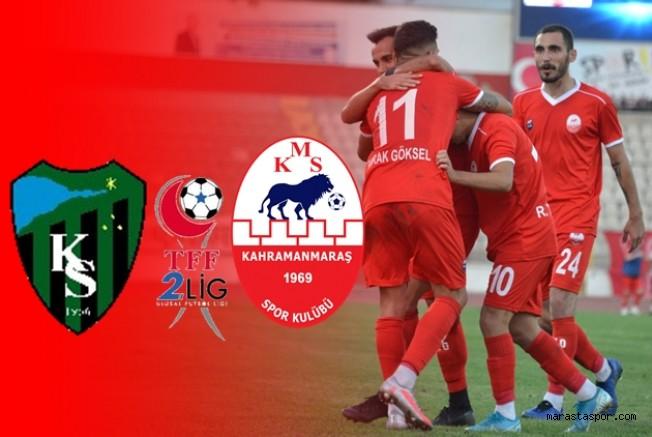 Kocaelispor - Kahramanmaraşspor maçı ne zaman saat kaçta hangi kanalda?
