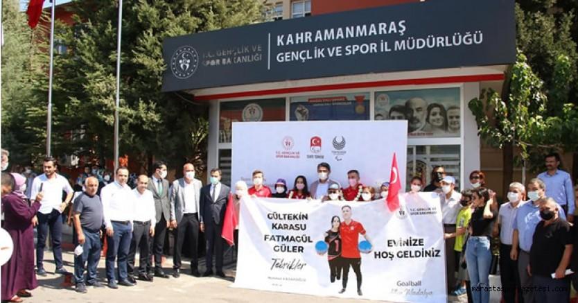Madalyalı Şehrin, Madalyalı sporcularını sevinç ve coşku ile karşıladı