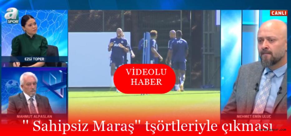 Mahmut Alpaslan  Kahramanmaraşspor'u A Spor'da konuştu