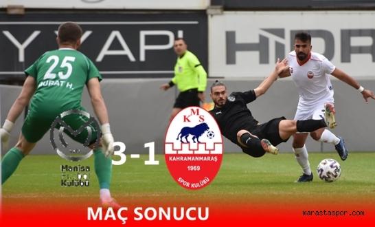 Manisa Futbol Kulübü - Kahramanmaraşspor Özet