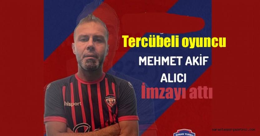 Mehmet Akif Alıcı, Bölgesel Amatör Lig takımı ile anlaştı