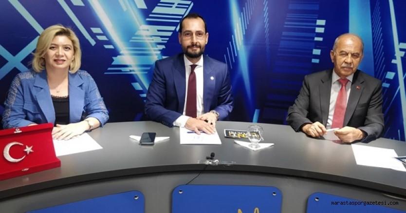 Mehmet Cihat Sezal, Kahramanmaraşspor'un gündemindeki konuları canlı yayında konuştu
