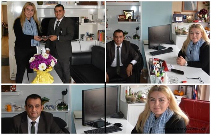 Mustafa Dağlı, Başkan Akkurt'un  Emekçi Kadınlar Gününü kutlandı