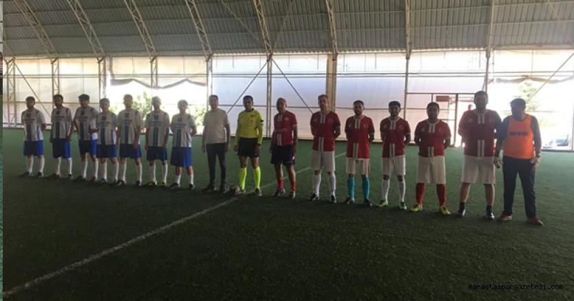 Nurhak'ta Doğa İçin Koşuyoruz Futbol turnuvası başladı