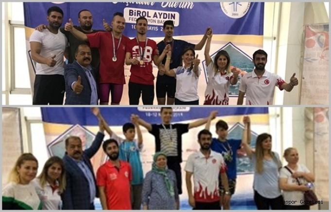 Özel Sporcularımız 3 Altın 1 Gümüş 6 Bronz Madalya Kazandı