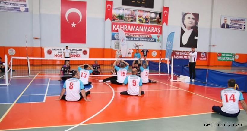 Paravolley Süper Lig 2. Etapı Kahramanmaraş'ta Yapıldı