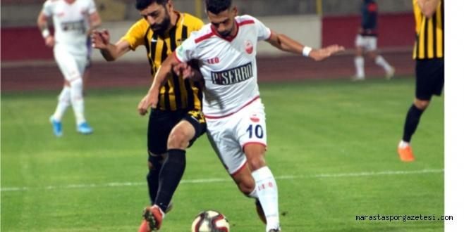 Pisserro Kahramanmaraşspor Evinde ilk kez puan kaybetti