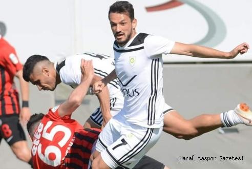 Play-Off'ta Kahramanmaraş'lı oyuncunun golüyle avantajı kaptı