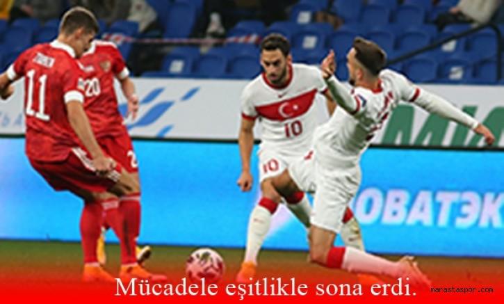 Rusya 1-1 Türkiye Özet