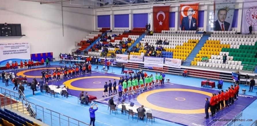 Serbest Stil Süper Lig Büyükşehir 6.oldu