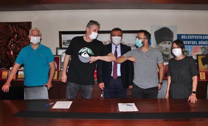 Sessiz sedasız ismi değişen Kahramanmaraş takımı yeni ismiyle imzalara başladı