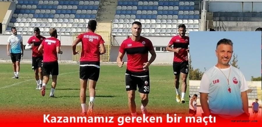 Sinan Yücer, Şanlıurfaspor maçı sonrası açıklama yaptı