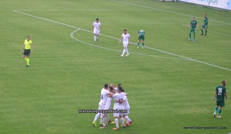 Sivas Belediyespor Kahramanmaraş spor maçının özeti