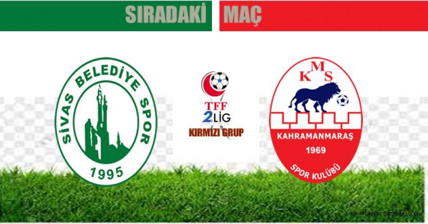 Sivas Belediyespor - Kahramanmaraşspor maçı ne zaman saat kaçta hangi kanalda?