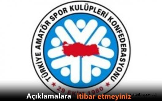 TASKK Genel Başkanı Ali Düşmez'den açıklama