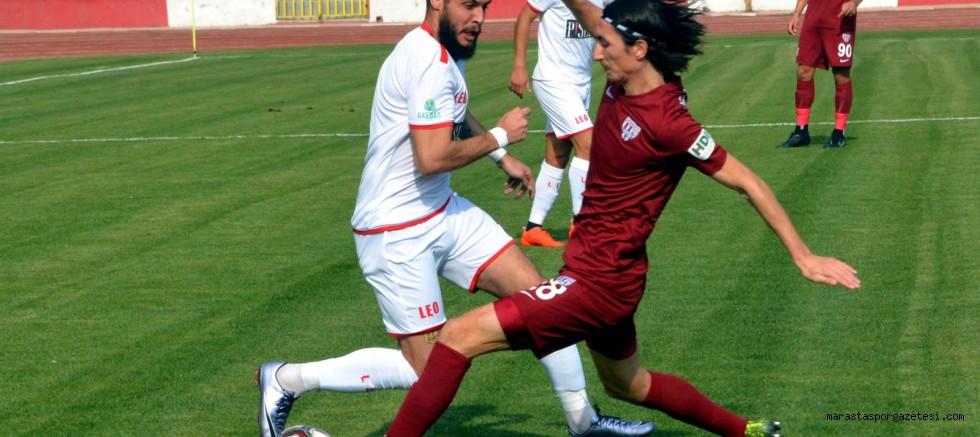 TFF 2. Lig: Kahramanmaraşspor: 3 Bandırmaspor: 3 (MAÇ ÖZETİ)