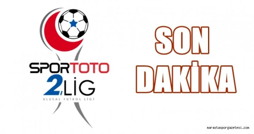 Türkiye 2.  Ligin başlama tarihi değişti