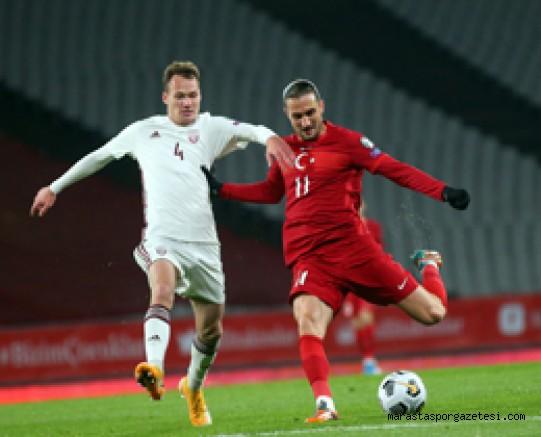 Türkiye  3-3 Letonya özet