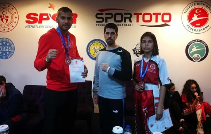 Türkiye Açık Kickboks Turnuvası'nda 2 Madalya