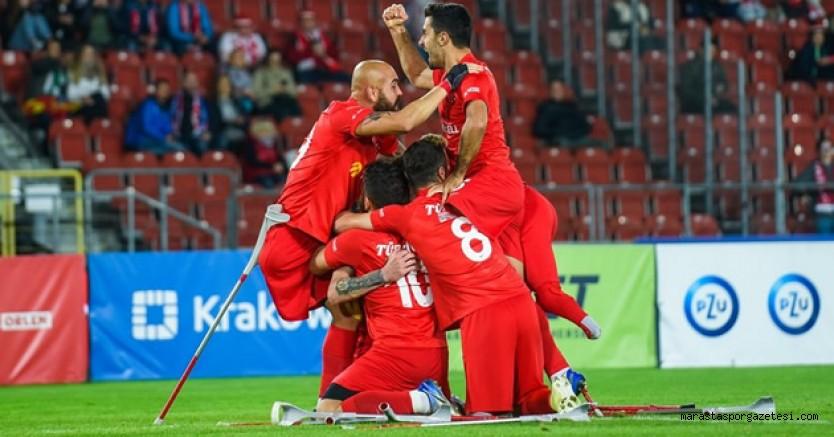 Türkiye Ampute Milli Takımımız şampiyon oldu