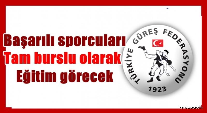 Türkiye Güreş Federasyonu Duyurdu! Başarılı sporculara  tam burs