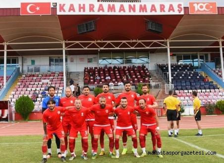 Türkoğlu Belediyespor, 12 Şubat Stadyumunda bir hazırlık maçı daha yaptı