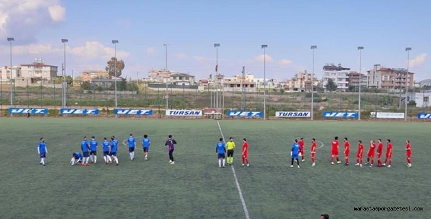 Türkoğlu Belediyespor, üçüncü hazırlık maçını yaptı