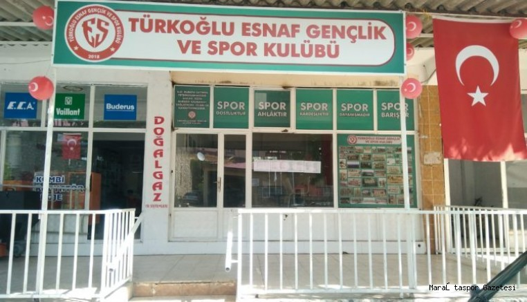 Türkoğlu Esnaf Spor açılıyor!
