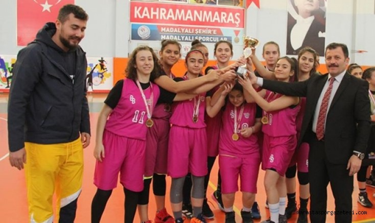 U-16 Kızlar Basketbol  Liginde şampiyon belli oldu