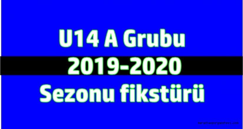 U14 A Grubu   2019-2020  Sezonu fikstürü