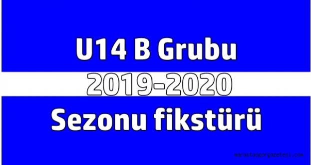 U14 B Grubu   2019-2020  Sezonu fikstürü